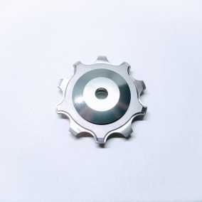 we offer many kinds of material pulley, such as titanium and