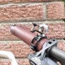 Bell on racing bike