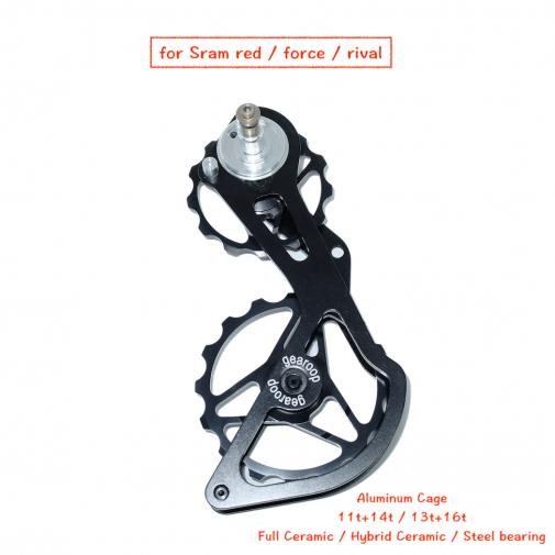 加大導輪擺臂改裝件 (鋁外板)