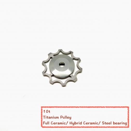 10t Titanium Pulley