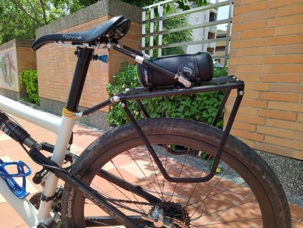suspension bike luggage carrier