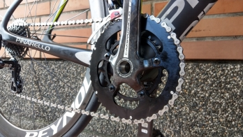 KOM チャレンジャー - 48t/32t変更されたチェーンリング for Campagnolo